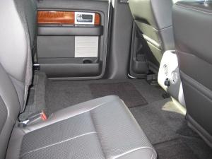 2010 F-150 Rear Seats