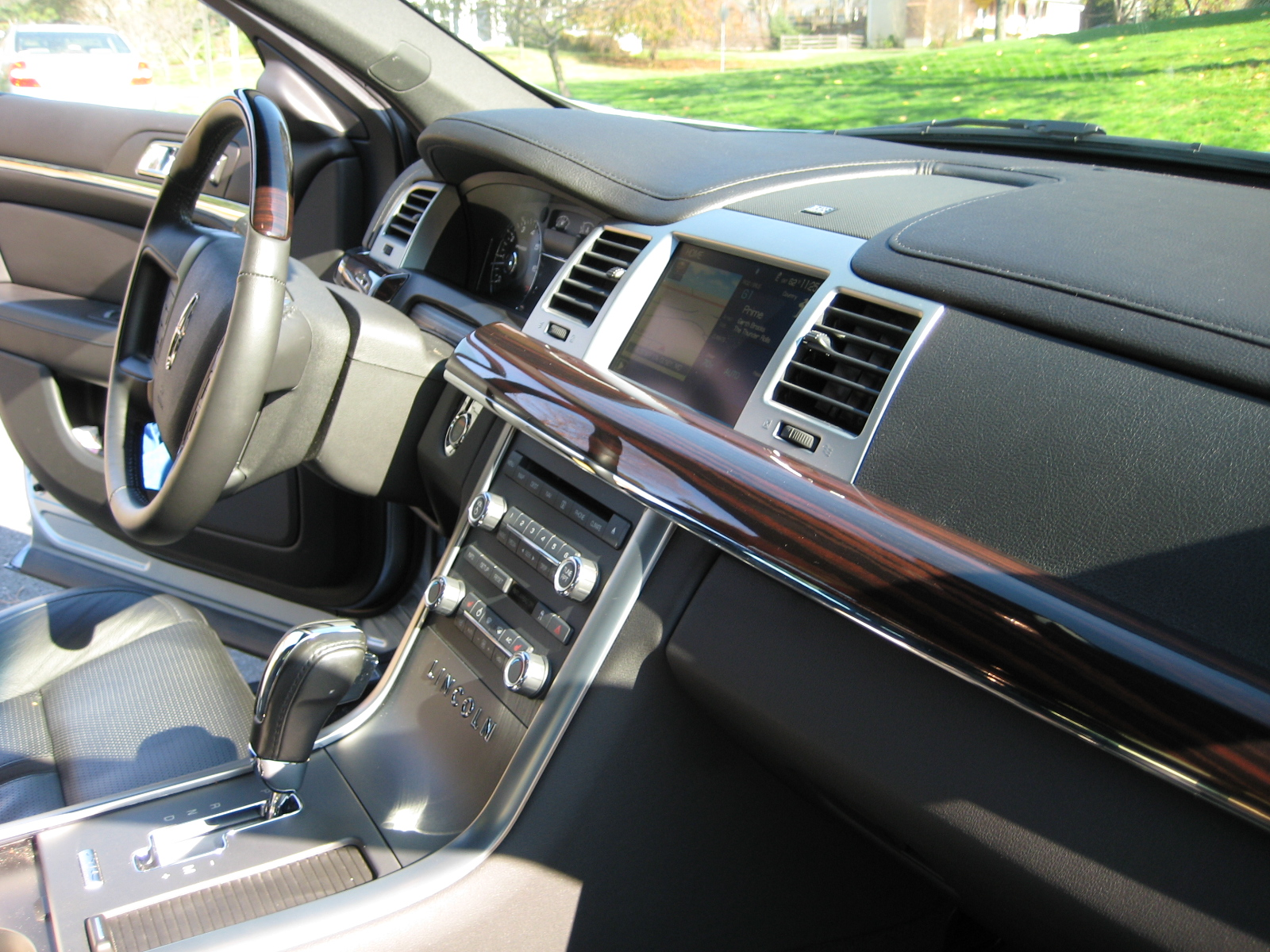 2009 lincoln mks dashboard