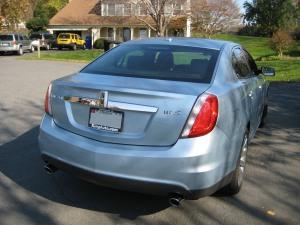 2009 Lincoln MKS Rear