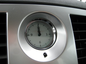 2010 Chrysler 300 Touring Clock