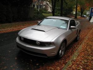 2010 Mustang GT Front