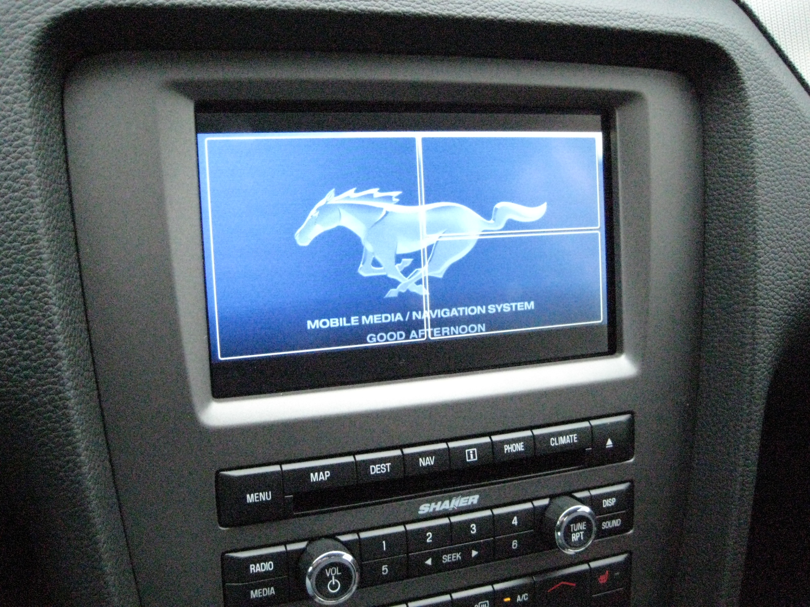 2010 mustang gt navigation screen