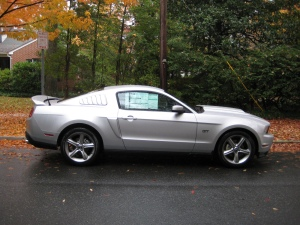2010 Mustang GT Profile
