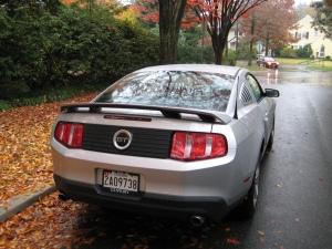 2010 Mustang GT Rear